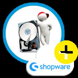 + 5 GB extra schneller Speicherplatz Speedlevel II+ für einen Shopware-Cloudserver